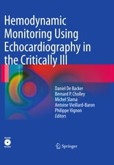 Hemodynamic Monitoring Using Echocardiography in the Critically Ill ebook by
