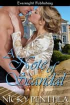 A Note of Scandal ebook by Nicky Penttila