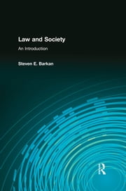 Law and Society - An Introduction ebook by Steven Barkan