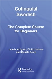 Colloquial Swedish ebook by Ahlgren, Jennie