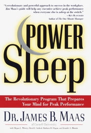 Power Sleep - The Revolutionary Program That Prepares Your Mind for Peak Performance ebook by David J. Axelrod