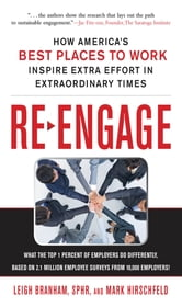Re-Engage: How America's Best Places to Work Inspire Extra Effort in Extraordinary Times ebook by Leigh Branham,Mark Hirschfeld