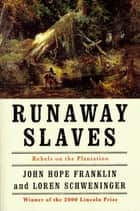 Runaway Slaves - Rebels on the Plantation ebook by John Hope Franklin, Loren Schweninger