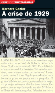 A crise de 1929 ebook by Kobo.Web.Store.Products.Fields.ContributorFieldViewModel