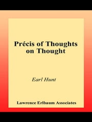 Thoughts on Thought ebook by Earl Hunt