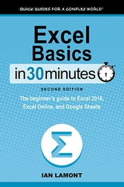 Excel Basics In 30 Minutes (2nd Edition) - The beginner's guide to Microsoft Excel, Excel Online, and Google Sheets ebook by Ian Lamont
