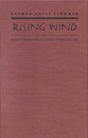 Rising Wind - Black Americans and U.S. Foreign Affairs, 1935-1960 ebook by Brenda Gayle Plummer