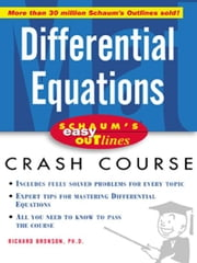 Schaum's Easy Outline of Differential Equations ebook by Bronson, Richard