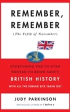 Remember, Remember (The Fifth of November) ebook by Judy Parkinson