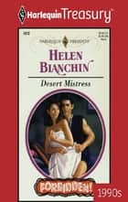 Desert Mistress ebook by Helen Bianchin