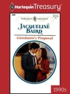 Giordanni's Proposal ebook by Jacqueline Baird