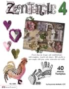 Zentangle 4: 40 More Tangles ebook by Suzanne McNeill