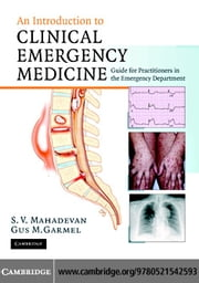 Intro Clinical Emergency Medicine ebook by Mahadevan, Swaminatha V.