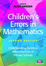 Children's Errors in Mathematics ebook by Alice Hansen