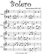 Bolero Beginner Piano Sheet Music ebook by Maurice Ravel