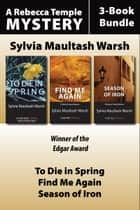Rebecca Temple Mysteries 3-Book Bundle - A Rebecca Temple Mystery ebook by Sylvia Maultash Warsh