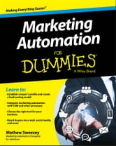Marketing Automation For Dummies ebook by Mathew Sweezey