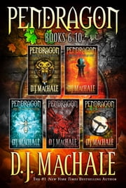 Pendragon Books 6-10 - The Rivers of Zadaa; The Quillan Games; The Pilgrims of Rayne; Raven Rise; The Soldiers of Halla ebook by D.J. MacHale