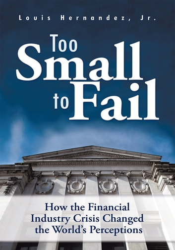 Too Small to Fail - How the Financial Industry Crisis Changed the World's Perceptions ebook by Louis Hernandez, Jr.