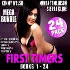 First Timers Mega Bundle 24-Pack - Books 1 - 24 (Over 12 Hours of Rough Sex Virgin Breeding Erotica) audiobook by Kimmy Welsh