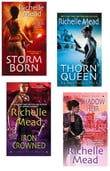 Richelle Mead Dark Swan Bundle: Storm Born, Thorn Queen, Iron Crowned & Shadow H eir