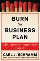 Burn the Business Plan - What Great Entrepreneurs Really Do ebook by Carl J. Schramm