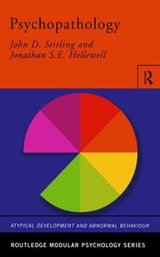 Psychopathology ebook by John Stirling,Jonathan Hellewell
