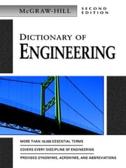 Dictionary of Engineering ebook by McGraw-Hill Education