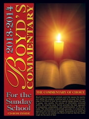 Boyd's Commentary 2013-2014 ebook by Rev. Dr. Peter Dare,Dr. Tony F. Drayton,Dr. Robert J. Holmes