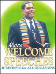 More Welcome Speeches - Responses for All Occasions ebook by Abingdon Press
