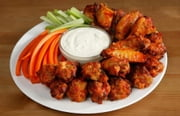 The Chicken Wing Cookbook - 64 Recipes ebook by Anonymous
