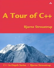 A Tour of C++ ebook by Stroustrup, Bjarne