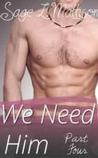 We Need Him Part 4 - Missing Pieces ebook by Sage L Mattison