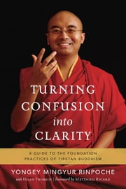 Turning Confusion into Clarity - A Guide to the Foundation Practices of Tibetan Buddhism ebook by Yongey Mingyur,Helen Tworkov,Matthieu Ricard