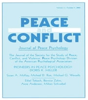 Pioneers in Peace Psychology - Doris K. Miller: A Special Issue of Peace and Conflict: Journal of Peace Psychology ebook by Richard V. Wagner
