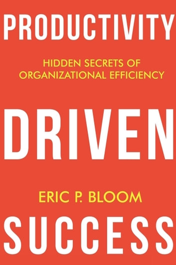 Productivity Driven Success ebook by Eric Bloom