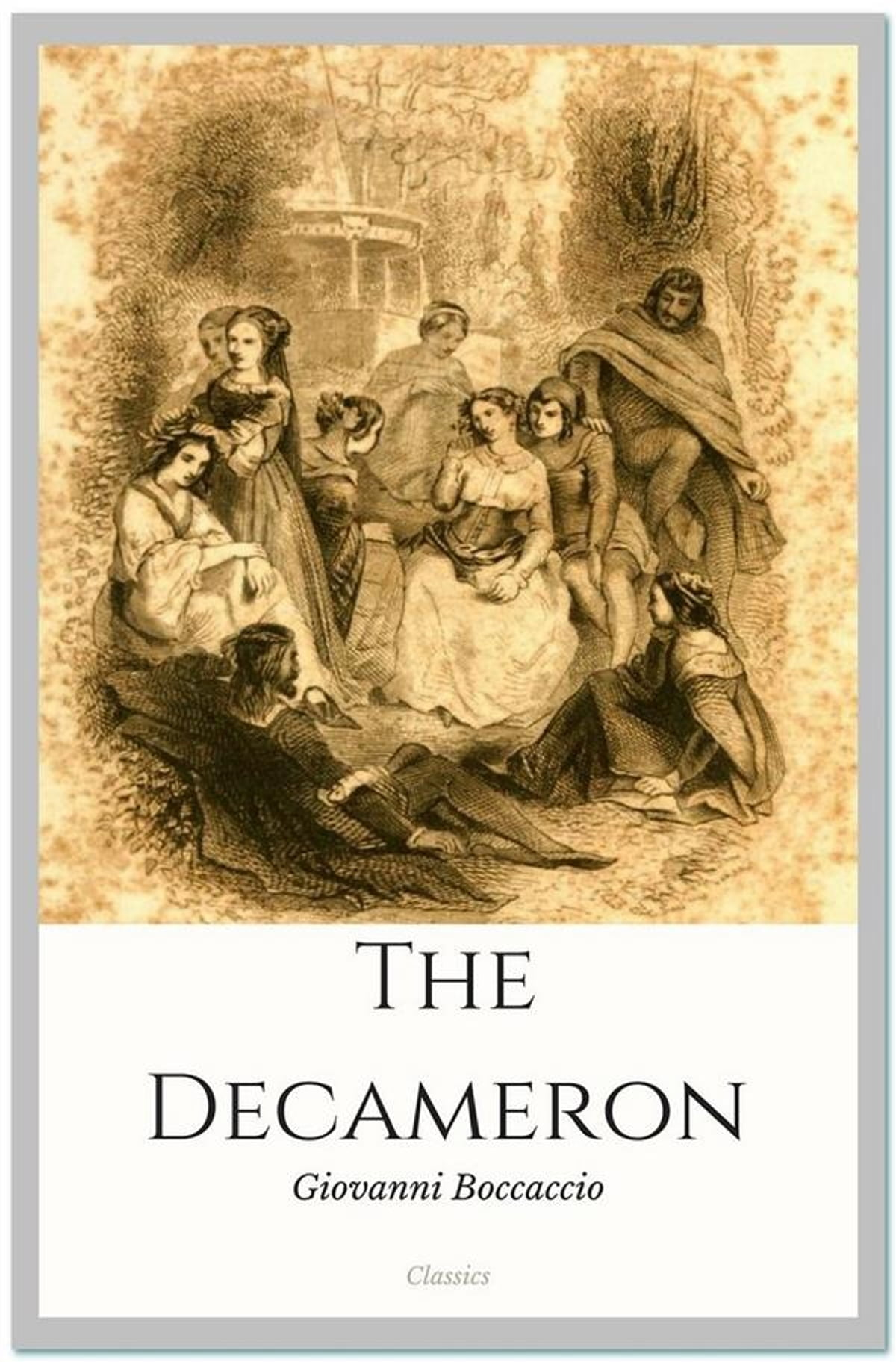 the decameron by giovanni boccaccio The decameron by giovanni boccaccio essay sample plague as dehumanization of florentine society it is necessary to outline that the decameron by boccaccio is one of the best remarkable and touching portraying of the plague in the medieval history.
