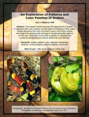 An Exploration of Patterns and Color Palettes of Snakes ebook by Eric J. Guignard