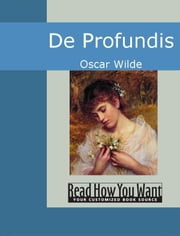 De Profundis ebook by Wilde,Oscar