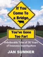 If You Come To A Bridge, You've Gone Too Far! ebook by Jan Sumner