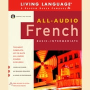 All-Audio French audiobook by Living Language
