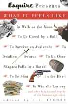 Esquire Presents: What It Feels Like - *To Walk on the Moon*To Be Gored by a Bull*To Survive an Avalanche *To Swallow S words*To Go Over Niagara Falls in a Barrel*To Be Shot in the Head*To Win the L ebook by A.J. Jacobs