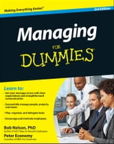 Managing For Dummies ebook by Bob Nelson,Peter Economy