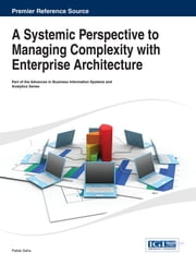 A Systemic Perspective to Managing Complexity with Enterprise Architecture ebook by Pallab Saha