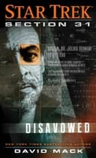 Section 31: Disavowed ebook by David Mack