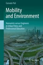 Mobility and Environment ebook by Corrado Poli