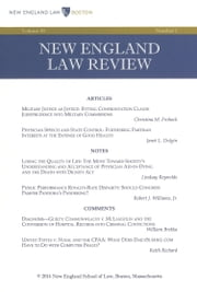New England Law Review: Volume 48, Number 2 - Winter 2014 ebook by New England Law Review