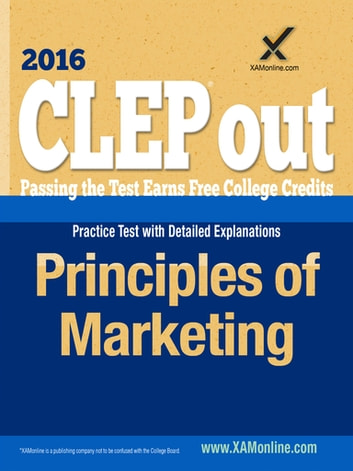 CLEP Principles of Marketing ebook by Sharon A Wynne