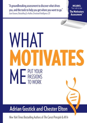 What motivates me ebook by adrian gostick 9780996029711 what motivates me put your passions to work ebook by adrian gostickchester elton fandeluxe Choice Image