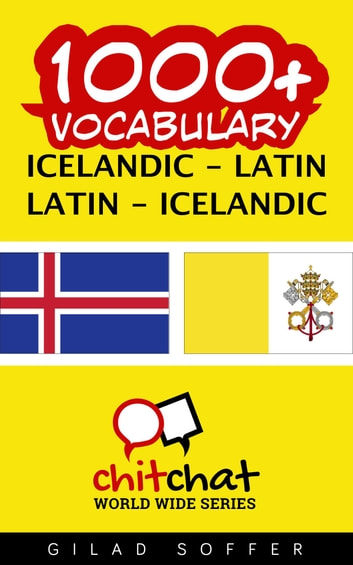 1000+ Vocabulary Icelandic - Latin ebook by Gilad Soffer